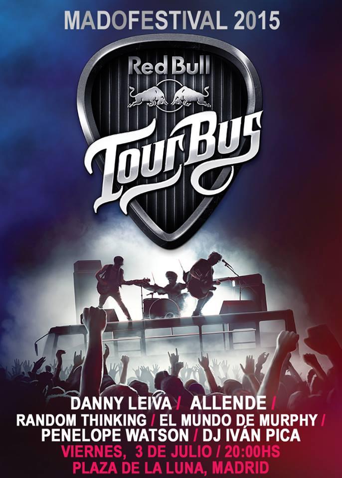 EMDM en el Tour Bus de Red Bull