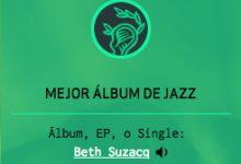 Beth Suzacq nominada a Mejor Album de Jazz Premios MIN